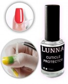 Cuticle protector Peel Off Διάφανη Σιλικόνη Προστασίας Παρανυχίδων 11ml